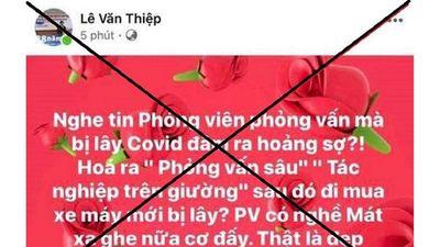 Đăng tải thông tin xúc phạm nhà báo, luật sư Lê Văn Thiệp bị phạt 8 triệu đồng - ảnh 1