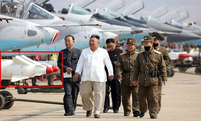 Tin tức quân sự mới nóng nhất ngày 17/4: Triều Tiên lần đầu công bố hình ảnh tên lửa đối đất hạng nặng - ảnh 1