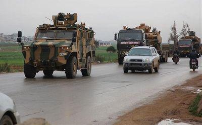 Tin tức quân sự mới nóng nhất ngày 4/4: Thổ Nhĩ Kỳ đưa 35 xe quân sự vượt biên tiến vào Syria - ảnh 1
