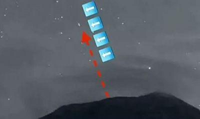 UFO như con tàu vũ trụ bay trong núi lửa ở Mexico? - ảnh 1