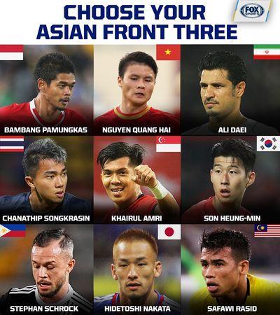 Quang Hải xuất hiện trong danh sách 9 cầu thủ tấn công ấn tượng nhất châu Á  - ảnh 1