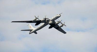 """Phi đội """"sát thủ săn ngầm"""" Tu-142 Nga chạm trán dàn tiêm kích NATO - ảnh 1"""