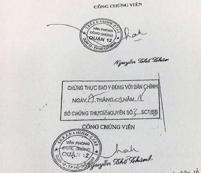Phòng công chứng giả tại TP.HCM: Sẽ khởi tố vụ án - ảnh 1