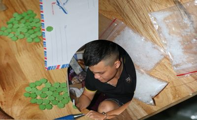 Trà Vinh: Tạm giữ thanh niên giấu ma túy vào khẩu trang bán kiếm lời - ảnh 1