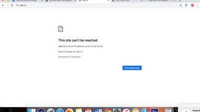 Zalo.vn chính thức bị tạm ngừng hoạt động - ảnh 1