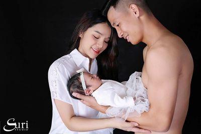 Xúc động trước lời nhắn gửi con gái và vợ của trung vệ Bùi Tiến Dũng - ảnh 1