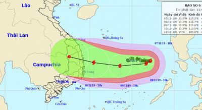 4 cơn bão cùng hình thành trên các đại dương khiến bão số 6 diễn biến khó lường - ảnh 1