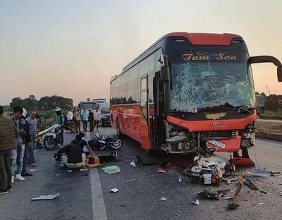 Vụ tai nạn liên hoàn trên cao tốc Hà Nội- Bắc Giang: Danh tính nạn nhân tử vong - ảnh 1