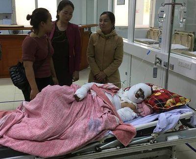 Nghệ An: Nổ bình gas trên tàu cá, 6 ngư dân bị thương nặng - ảnh 1