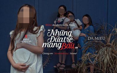 """Nhiếp ảnh gia nói gì về bộ ảnh """"Những đứa trẻ mang bầu"""" gây tranh cãi? - ảnh 1"""