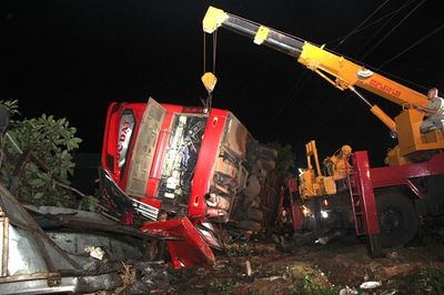 Vụ tai nạn xe khách 13 người thương vong ở Đắk Lắk: Khởi tố tài xế - ảnh 1