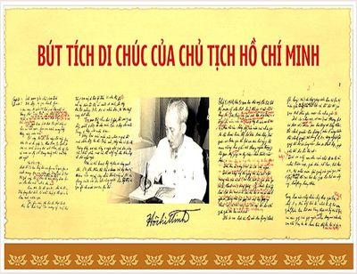 Di chúc Chủ tịch Hồ Chí Minh và 50 năm thực hiện lời căn dặn của Người - ảnh 1