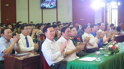 """Lễ Phát động Cuộc thi trắc nghiệm """"Tìm hiểu 90 năm lịch sử vẻ vang của Đảng Cộng sản Việt Nam"""" - ảnh 1"""
