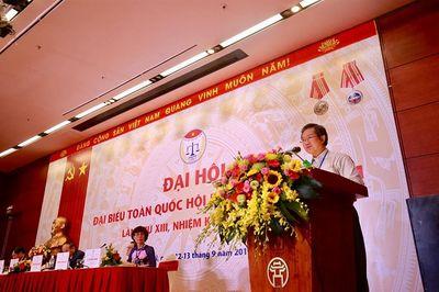Đại hội Đại biểu Hội Luật gia Việt Nam lần thứ XIII: Nhiều nội dung quan trọng trong phiên thứ Nhất - ảnh 1