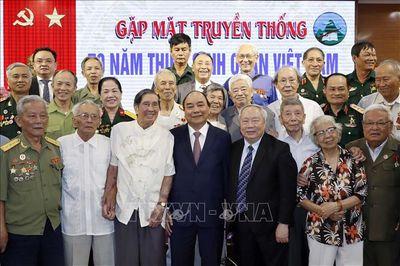 Thủ tướng dự gặp mặt Kỷ niệm 70 năm thành lập Trường Thiếu sinh quân Việt Nam - ảnh 1