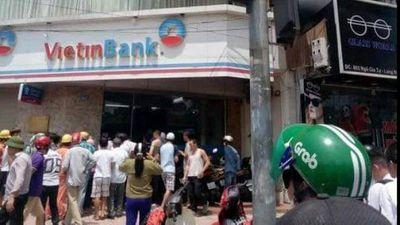 Vụ cướp ngân hàng Vietinbank ở Hà Nội: Đã xác định được danh tính của nghi can - ảnh 1