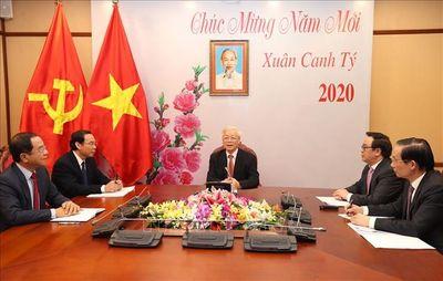 Tổng Bí thư, Chủ tịch nước Nguyễn Phú Trọng điện đàm với Tổng Bí thư, Chủ tịch nước Trung Quốc Tập Cận Bình - ảnh 1