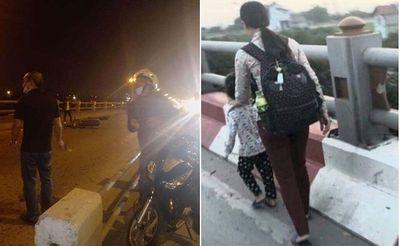 Hà Nội: Người mẹ dắt con gái đi xin ăn trên cầu Thanh Trì gặp tai nạn tử vong thương tâm - ảnh 1