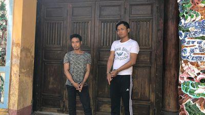 """Thừa Thiên – Huế: Khởi tố 2 """"đạo chích"""" chuyên đột nhập đền, phủ trộm cắp tài sản - ảnh 1"""