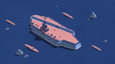 Vương quốc Anh bí mật xây tàu chiến băng trong Thế chiến thứ II - ảnh 1