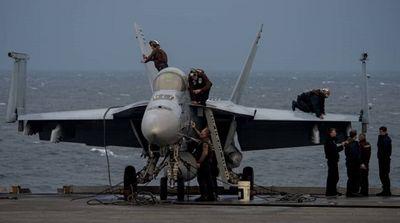 Tiêm kích Mỹ rơi xuống biển, 2 phi công bật dù thoát nạn - ảnh 1