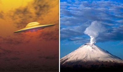 UFO gần núi lửa Mexico hé lộ bằng chứng về căn cứ của người ngoài hành tinh? - ảnh 1