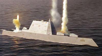 So sánh sức mạnh tàu khu trục tàng hình Mỹ với tàu chiến tốt nhất Trung Quốc - ảnh 1