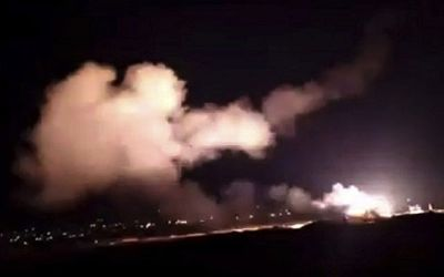 Syria tố Israel nã tên lửa vào thị trấn biên giới ở miền Nam - ảnh 1