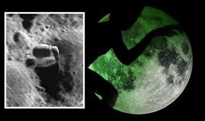 Google Moon làm lộ căn cứ của người ngoài hành tinh, NASA bị tố