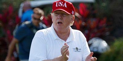 Tổng thống Trump bị chỉ trích vì đi chơi golf bất chấp 2 vụ xả súng hàng loạt - ảnh 1