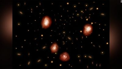 Các nhà thiên văn phát hiện ra một quần thể gồm hàng chục thiên hà cổ đại
