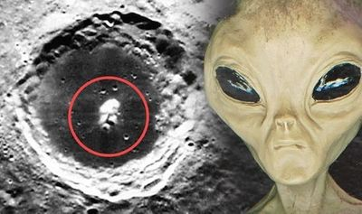 Chuyên gia UFO: Nghi vấn khuôn mặt giống người ngoài hành tinh trên Mặt trăng - ảnh 1