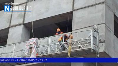 """Hà Nội: Công trình Toyota Mỹ Đình 2 """"thả"""" vật thể làm vỡ kính xế sang - ảnh 1"""