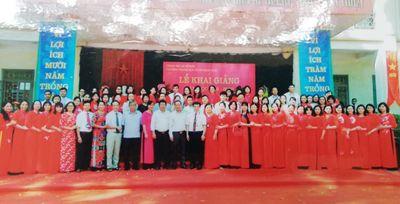 Trường THCS Châu Khê (TX Từ Sơn, Bắc Ninh): Sôi nổi trong phong trào thi đua dạy tốt, học tốt - ảnh 1