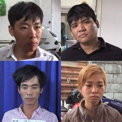 Bình Dương: Bắt giữ một nhóm đối tượng buôn ma túy có hung khí - ảnh 1