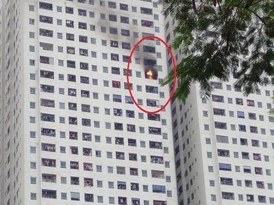Khu chung cư Linh Đàm (Hà Nội) lại cháy: Ý thức cư dân hay chất lượng công trình? - ảnh 1