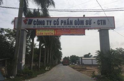 Vụ nước sạch sông Đà nhiễm dầu thải: Cần làm rõ trách nhiệm của công ty gốm sứ Thanh Hà - ảnh 1