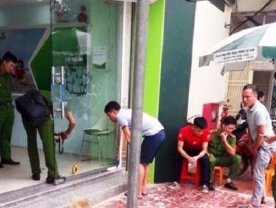 Nguyên trung úy công an nổ súng tại ngân hàng bị thay đổi tội danh khởi tố - ảnh 1