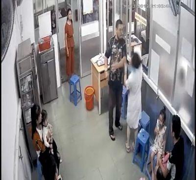 Xác định danh tính người đàn ông hành hung nữ nhân viên y tế - ảnh 1