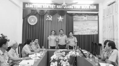 Chi hội luật gia cục Thi hành án dân sự tỉnh Đồng Tháp: Xây dựng chi hội trong sạch, vững mạnh - ảnh 1