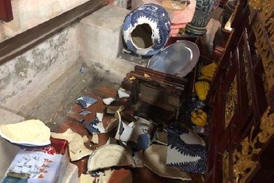 """Bắc Ninh: Bắt nam thanh niên """"ngáo đá"""" vào chùa Dâu đập phá - ảnh 1"""