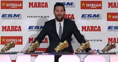 Messi lần thứ 6 giành danh hiệu Chiếc giày Vàng Châu Âu - ảnh 1