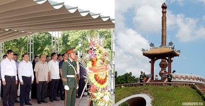 Thủ tướng dâng hương tại Thành cổ Quảng Trị - ảnh 1