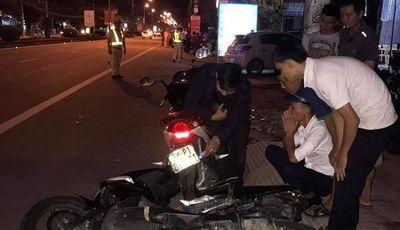 Giám đốc Công an Hà Tĩnh chỉ đạo xử lý nghiêm vụ cán bộ lái xe đâm 2 người thương vong - ảnh 1