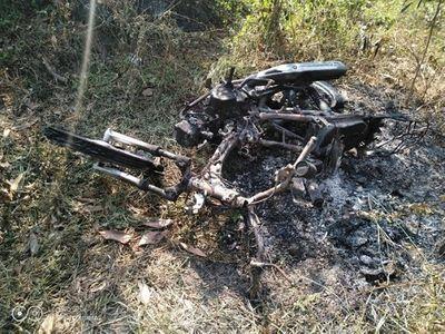 Hiệp sĩ Bình Dương bị nhóm thanh niên truy sát, đốt xe trong đêm - ảnh 1
