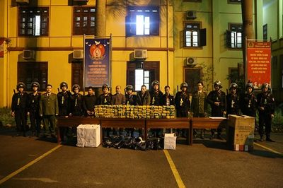 Liên tục bắt thêm các đối tượng trong vụ buôn gần nửa tấn ma tuý ở Lạng Sơn - ảnh 1