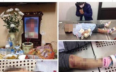 Vụ bé gái 3 tuổi tử vong nghi bị bạo hành ở Hà Nội: Hàng xóm tiết lộ bất ngờ - ảnh 1