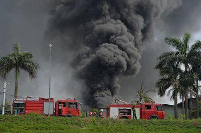 Khẩn trương làm rõ nguyên nhân cháy kho hóa chất tại Hà Nội - ảnh 1