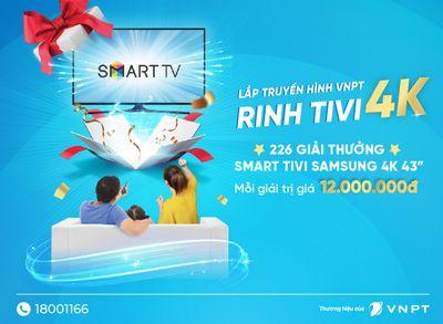 113 khách hàng VNPT trúng thưởng TV Samsung tổng trị giá hơn 1,3 tỷ đồng  - ảnh 1