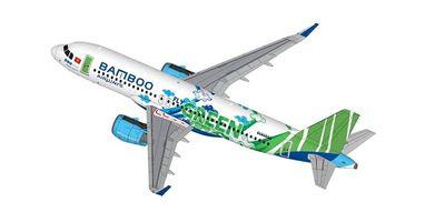 Hé lộ thông điệp ẩn sau 'bộ áo' của chiếc A320neo mà Bamboo Airways sắp đón  - ảnh 1